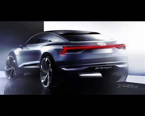 2019 audi electric car audi e sportback electric concept announced for