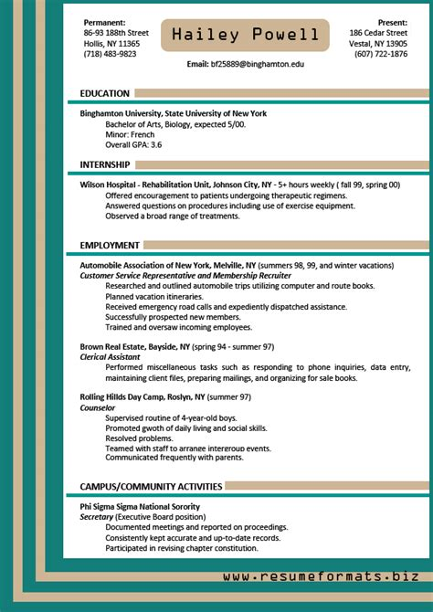 best resume format 2015 documentaries which resume format is best for me resume cv cover letter