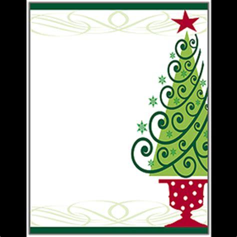 holiday seasonal christmas stationery papers
