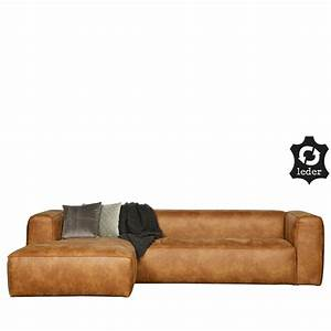 canape d39angle gauche cuir cognac bean by drawer With tapis berbere avec canapé d angle inclinable