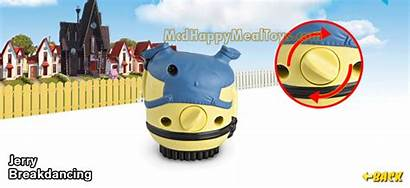 Despicable Minion Jerry Breakdancing Toys Animated Meal