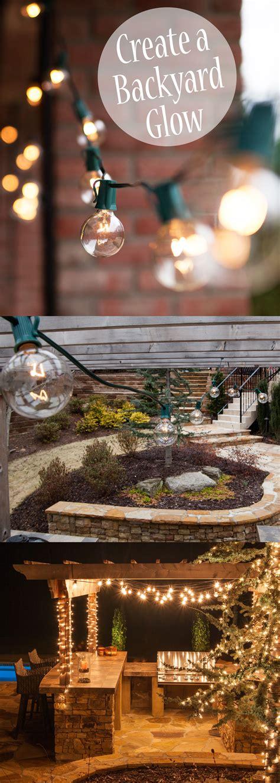 pin  outdoor patio  party ideas