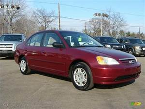 Honda Civic 2002 : radiant ruby red pearl 2002 honda civic lx sedan exterior photo 45941907 ~ Dallasstarsshop.com Idées de Décoration