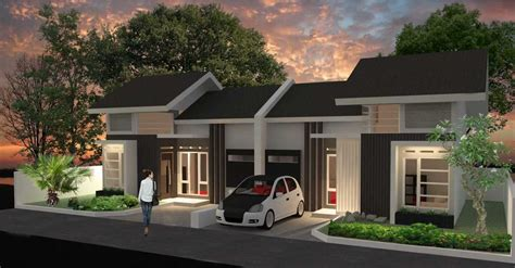desain rumah minimalis luas tanah  meter kumpulan