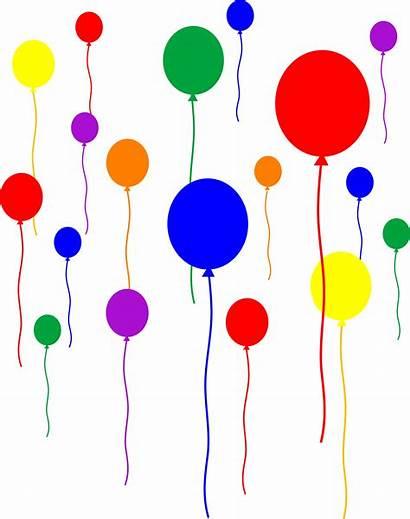 Balloons Transparent Clip Birthday Favors