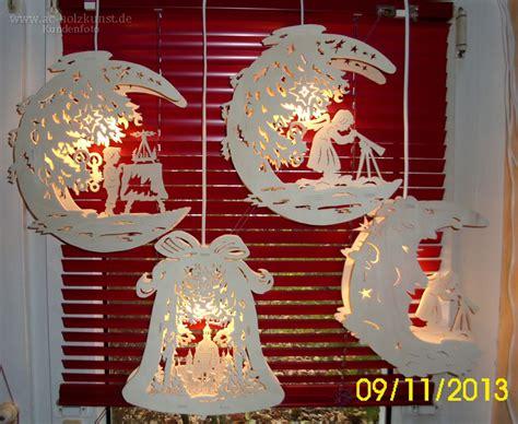 Fensterbilder Weihnachten Erzgebirge by S 228 Gearbeiten Fensterbilder Mond Glocke Schwibbogen