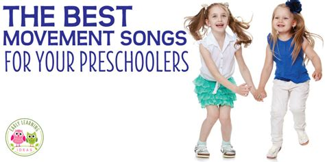I love this activity so much. Preschool Movement Songs: 10 Favorite Action Songs for Kids - Early Learning Ideas