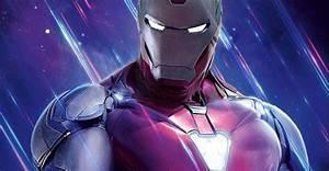 I, Am, Iron, Man, Wallpaper, Endgame, Box