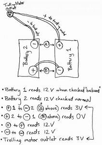 Wiring Diagrams For 12 Volt Or 24 Volt Trolling Motor