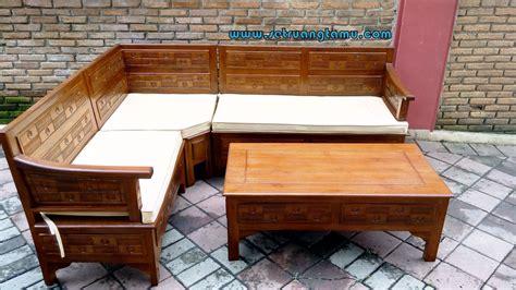 kursi ruang tamu kursi kursi tamu jati sudut minimalis ukir murah furniture set