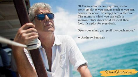 """'your body is not a temple' and more of anthony bourdain's deepest quotes. """"if I'm an Advocate for Anything, It's to ..."""" - Anthony Bourdain [1423x800 (With images ..."""