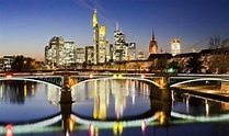 Top 10 reasons to go to German city, Frankfurt, liquid ...