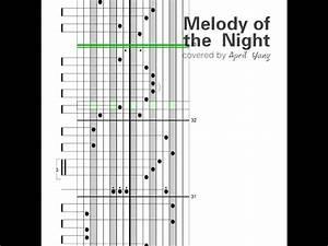 U3010kalimba Tabs U3011melody Of The Night No 5 Chords