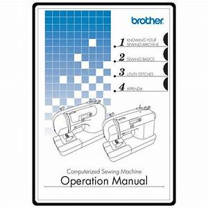 Instruction Manual  Brother Xr