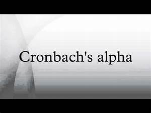 Spss Cronbachs Alpha Berechnen : calculating and interpreting cronbach 39 s alpha using spss ~ Themetempest.com Abrechnung