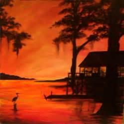 Louisiana Swamp Scenes Paintings