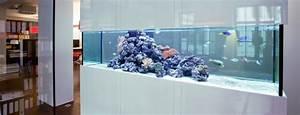 Aquarium Gestaltung Bilder : aquarium als raumteiler benutzen 26 beispiele ~ Lizthompson.info Haus und Dekorationen