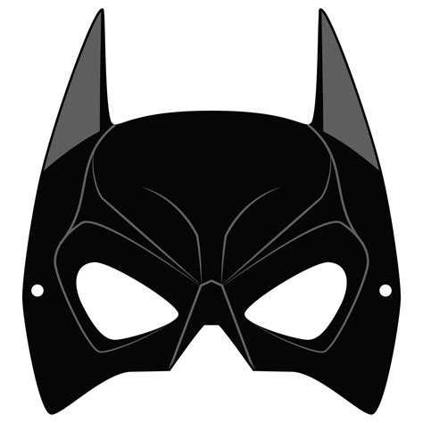 batman mask template  printable papercraft templates