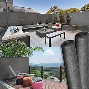 Brise Vue 220 G M2 : brise vue renforc 1 5 x 10 m gris 220 gr m luxe pro ~ Edinachiropracticcenter.com Idées de Décoration