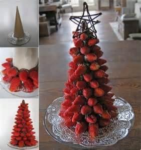 fruit christmas tree centerpiece trusper