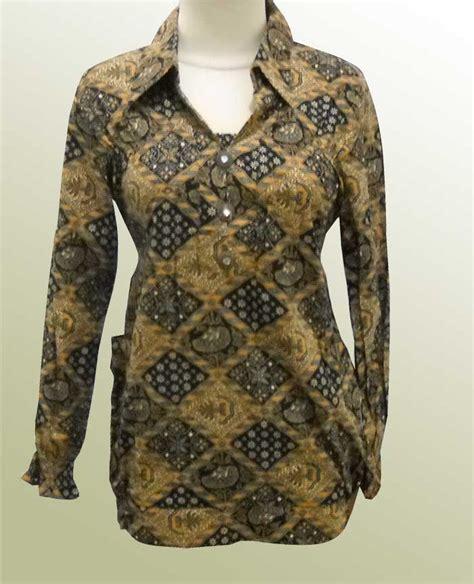 model baju batik wanita lengan panjang model baju