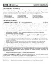 Relationship Manager Resume Sample Client Relationship Manager