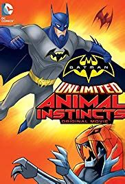 batman unlimited animal instincts video