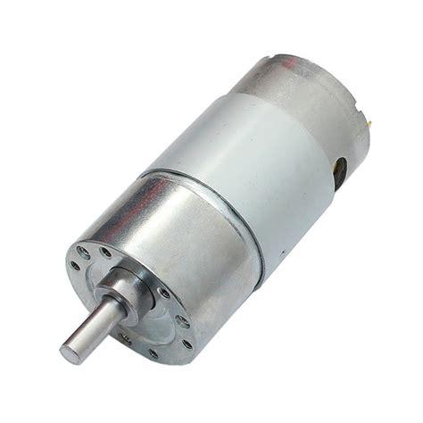 18v Electric Motor by Dc 12v 180rpm Geared Motor High Torque Gear Reducer Motor