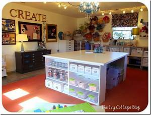 "DIY or Don't!: {Friday ""Food"" for Thought} Your Crafting Space"