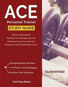 Ace Personal Trainer Manual  U0026 Study Guide   Study