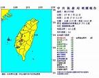 22:27嘉義規模4.6地震 最大震度雲林古坑5級 - 中時電子報