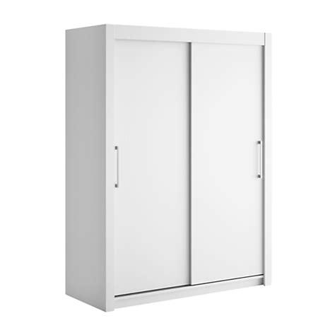 armoire 2 portes coulissantes bois largeur 120 cm