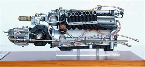 18 Scale Auto Union Type C, V-16-engine, 1936/37