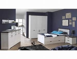 Schlafzimmer Weiß Grau : bett gaston 100x200cm 2x schubkasten weiss grau komfortbett jugendbett wohnbereiche schlafzimmer ~ Frokenaadalensverden.com Haus und Dekorationen