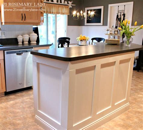 images of kitchen islands 21 rosemary board batten kitchen island makeover
