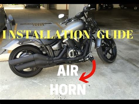 how i installed my aftermarket air horn nautilus stebel youtube