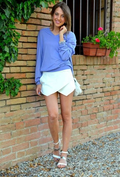 summer floral blouse style how fashion wear zara wrap shorts