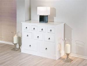 Kommode Massiv Weiß : sideboard provence kommode mit 9 schubladen kiefer massiv wei ~ Watch28wear.com Haus und Dekorationen
