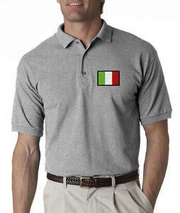 flag of italy mens embroidered polo shirt s 6xl lt 4xlt italian new ebay