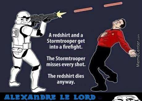 Star Wars Star Trek Meme - star wars v s star trek by alexandre le lord meme center