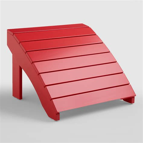 barbados cherry adirondack stool world market