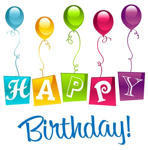 free birthday clipart happy birthday png clipart picture happy birthday