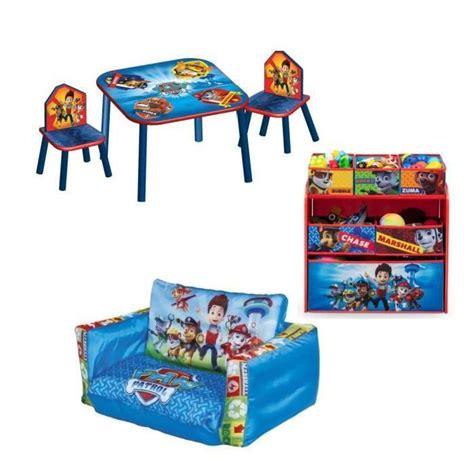 pat patrouille pack chambre enfant avec meuble de