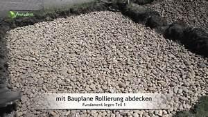 Fundament Für Terrasse : fundament legen betonieren teil 1 rollierung und schalungskasten youtube ~ Yasmunasinghe.com Haus und Dekorationen