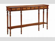 Extra tall console table, tall narrow long console table
