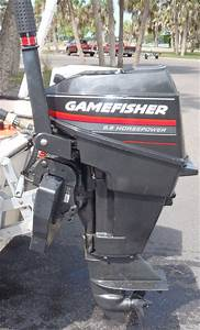 9 9 Hp Gamefisher Short Shaft Outboard Motor For Sale