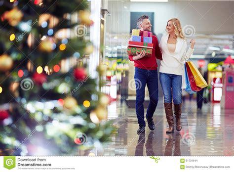 buying christmas gifts stock photo image 61731944