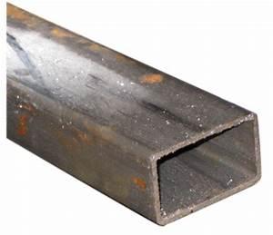 Serrurier Le Cannet : tube serrurier noir rectangulaire lg 2 m section 40x27 mm ~ Premium-room.com Idées de Décoration