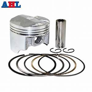 Aliexpress Com   Buy Motorcycle Engine Parts  50 Cylinder Bore Size 55 50mm Pistons  U0026 Rings Kit