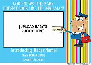 Baby Announcement Ecards Funny Birth Announcements Pregnancy Humor